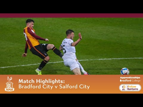 Bradford Salford Goals And Highlights