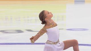 Вероника Жилина Произвольная программа Кубок России по фигурному катанию 2020 21 Пятый этап