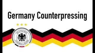 COUNTER-PRESSING EXPLAINED - GERMANY (TACTICAL CAM)