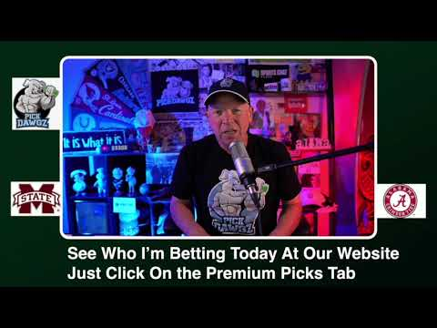 Alabama vs Mississippi State Free College Football Picks and Predictions CFB Tips Saturday 10/31/20