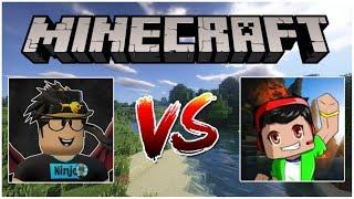 Ninja vs Jindar / Minecraft TheBridge