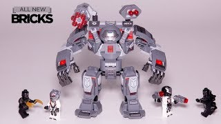 Lego Avengers End Game 76124 War Machine Buster Speed Build