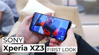 Xperia XZ3   First Look   Trusted Reviews