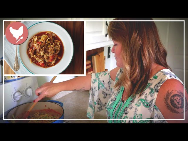 SOUP-tember Collab! Easy Cabbage Roll Soup Recipe   A Good Life Farm
