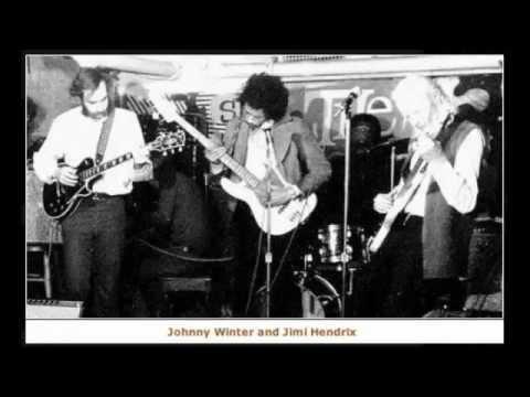 Jimi Hendrix, Johnny Winter, Buddy Miles, STEVE BURGH - Ships Passing in the Night