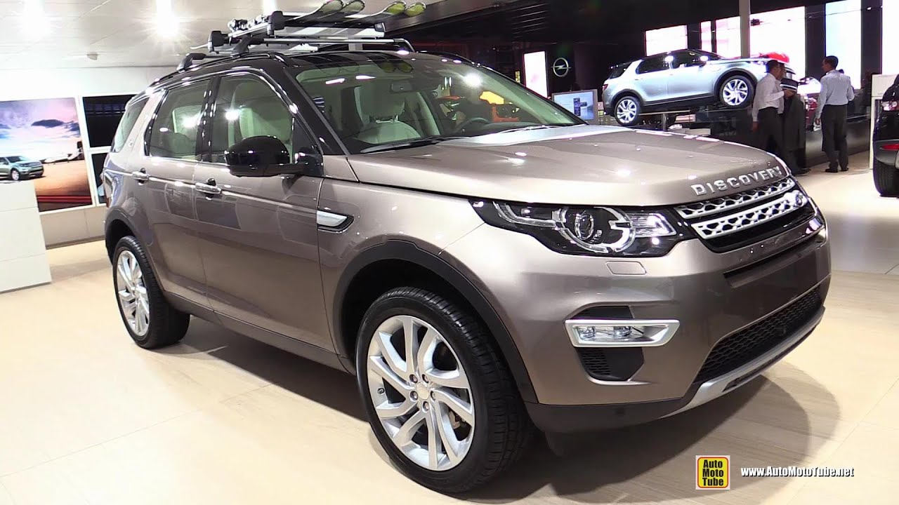 2015 land rover discovery sport hse exterior interior walkaround 2014 paris auto show youtube. Black Bedroom Furniture Sets. Home Design Ideas