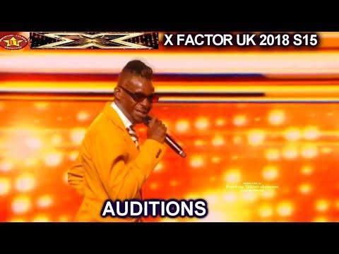 Olatunji Yearwood of Trinidad  Tobago Original song SIMON LOVES IT AUDITIONS week 1 X Factor UK 2018