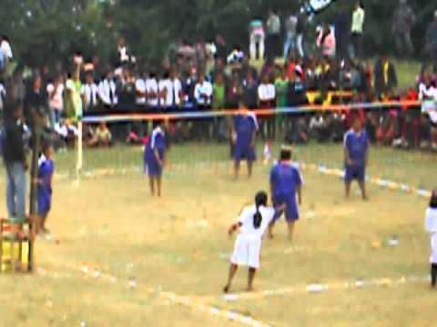 Sankhuwa sabha District's ladies Volleyball.