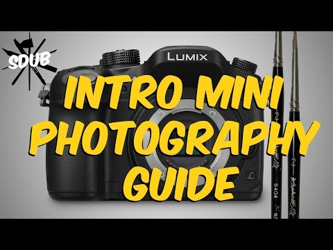 Intro to Photography for Miniatures