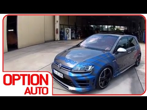 exhaust sound vw golf 7 r 400 oettinger option auto. Black Bedroom Furniture Sets. Home Design Ideas