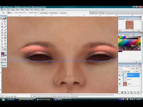 second life templates for gimp - lindsay lohans make up job for a secondlife skin funnycat tv