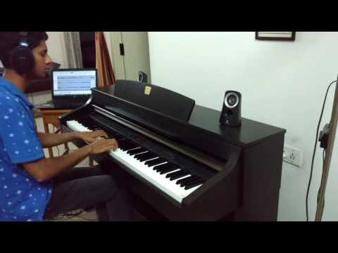 Chords For Abhi Na Jaao Chhodkar Piano Cover