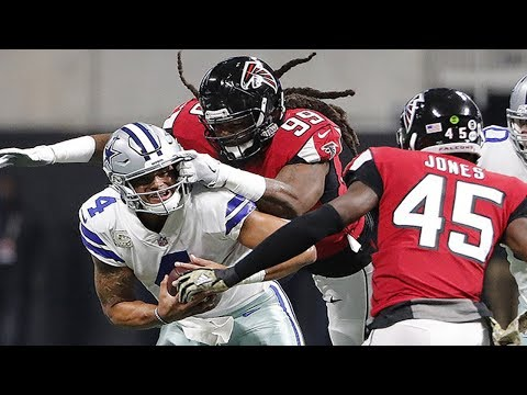 Atlanta Falcons DE Adrian Clayborn Makes HISTORY!!! 6 SACKS IN ONE GAME!!!