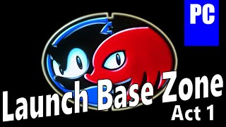 Sonic & Knuckles: PC Collection Launch Base Zone: Act 1 (Cover)
