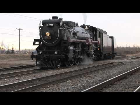 CP 2816 IMAX Movie Star 1 - Leaving Calgary Ogden Yards