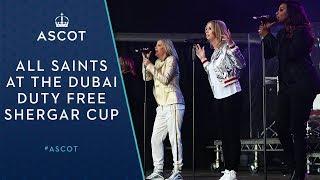 All Saints at the Dubai Duty Free Shergar Cup