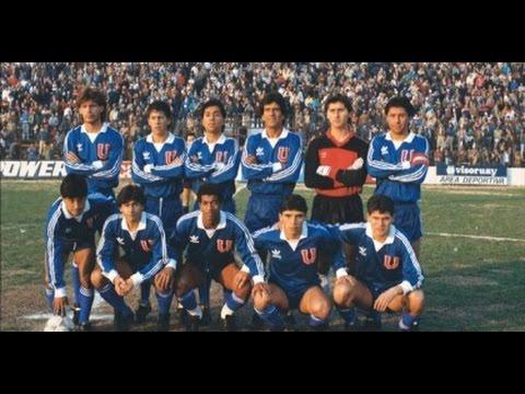 Universidad de Chile a 2° división 1988