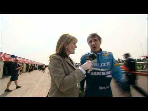 BTCC.2011.Thruxton.Race1.Plato.Interview