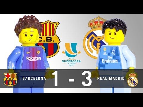 LEGO Final Supercopa 2017 BARCELONA - REAL MADRID Ida