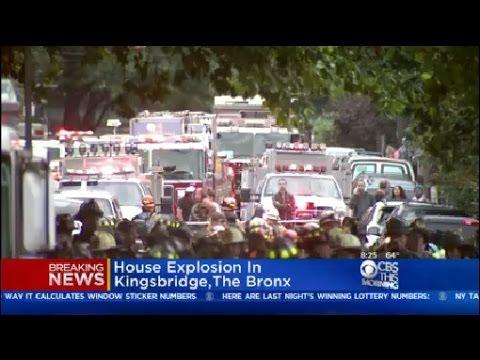 Bronx House Explosion