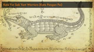 Kata Pongan Pai for Sak Yant Warriors