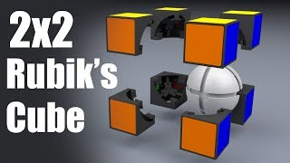 How does a 2x2 Rubik's Cube work?