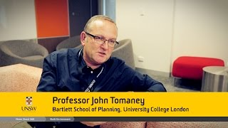 "Vox Pop - John Tomaney - from the ""Place & Placelessness"" Symposium"