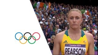 Sally Pearson (AUS) Sets Olympic Record - 100m Hurdles Gold | London 2012 Olympics