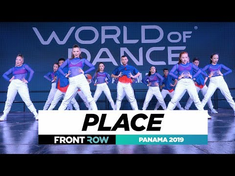 PLACE | TEAM DIVISION | FRONTROW | World of Dance Panama 2019 | #WODPANAMA2019