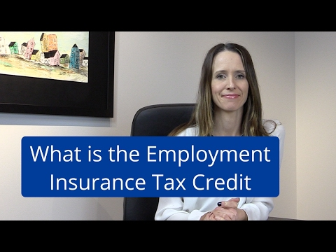 What is the Employment Insurance Tax Credit?