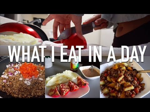 A Typical Full Day of Eating | Quick, Staple, Easy to Make Meals