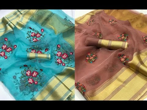 Trendy Collection Of Organza Digital Print Sarees || New Colourful Organza Digital Print Sarees from YouTube · Duration:  2 minutes 58 seconds