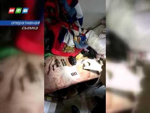 ТРК ИТВ: Огнестрельное оружие и боеприпасы житель Джанкоя прятал в гараже