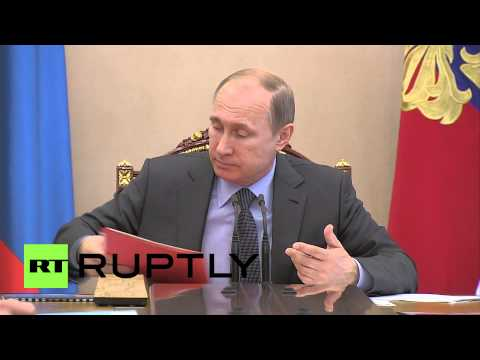 Russia: Putin confirms anti-EU sanctions extension