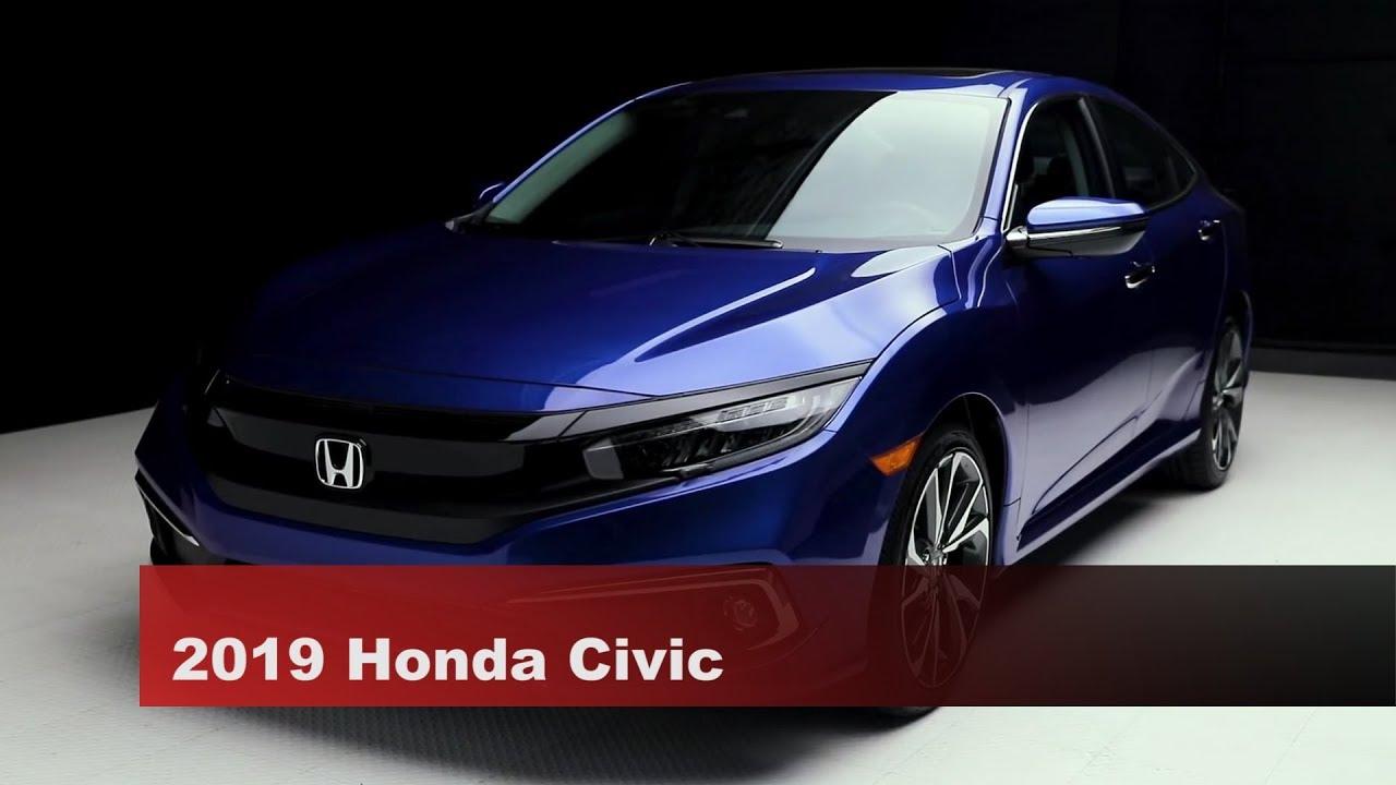 New 2019 Honda Civic Hatchback SPORT Front Wheel Drive 4 Door Car