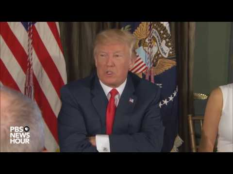 President Trump makes statement on North Korea nuclear weapon development