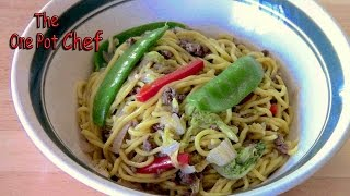 Beef Chow Mein - Recipe