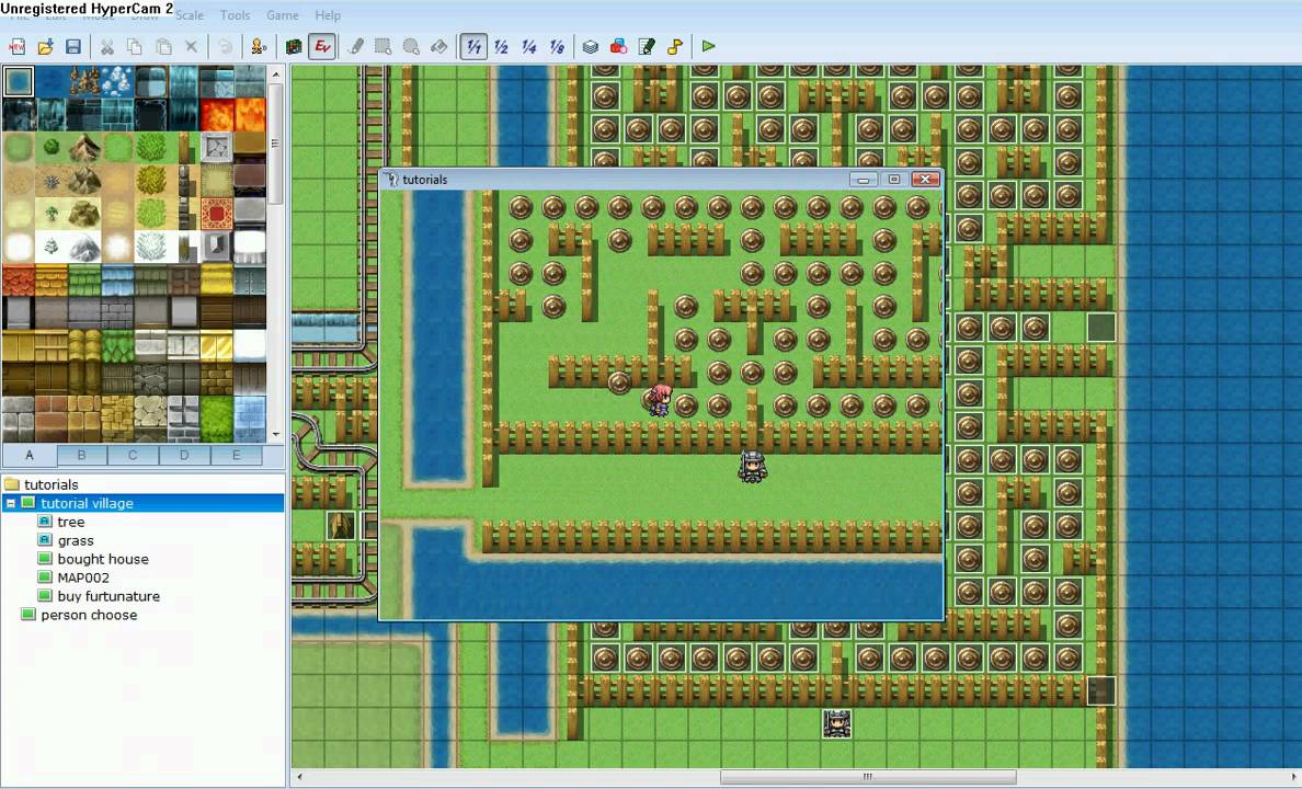 rpg maker vx pacman mini game complete - Mini House Maker