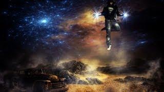 Photoshop CC Создаём коллаж Звёздный полёт