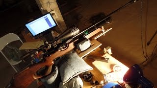 Weihrauch HW100 T FAC .22 PCP air rifle Destruction (adjusted to 16J / 12ft.lbf) scope cam