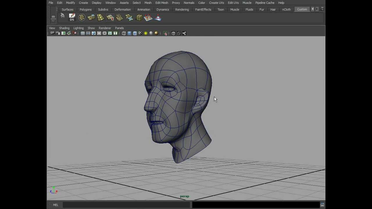 modeling Basic Head