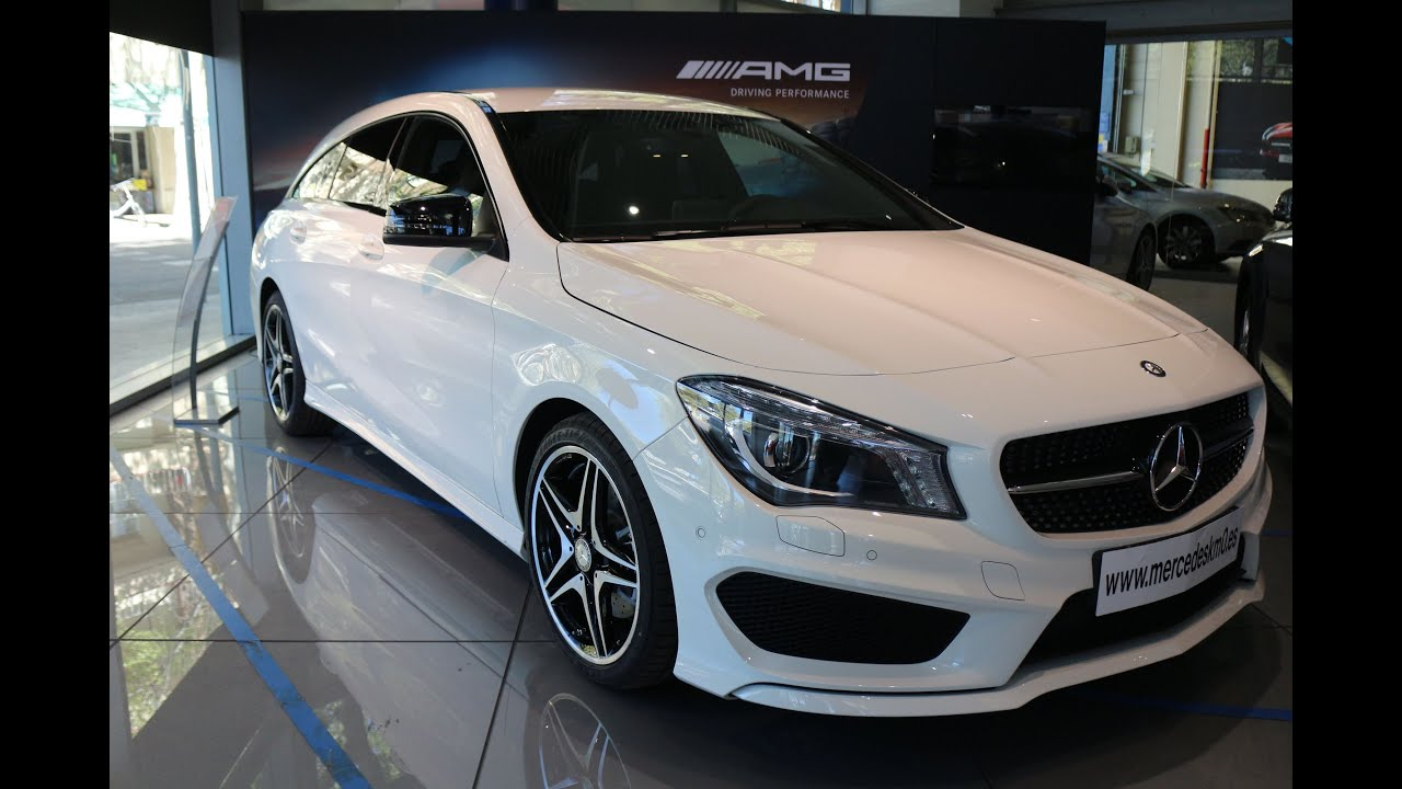 mercedes benz cla 220 cdi shooting brake amg line. Black Bedroom Furniture Sets. Home Design Ideas
