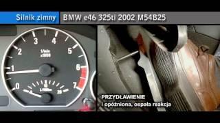 BMW e46 325ti Reakcja na dodawanie gazu
