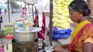 Snack time in Kanyakumari | Street food | making fried banana | travancore life