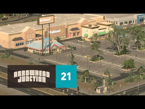 Cities Skylines: Arrowhead Junction - Part 21 - Commercial District