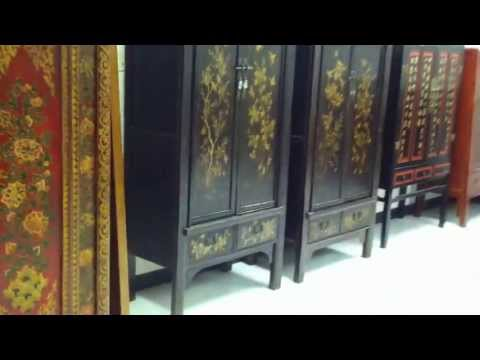 Video Preview of Chinese Furniture Auction by Pyramid Auction Company