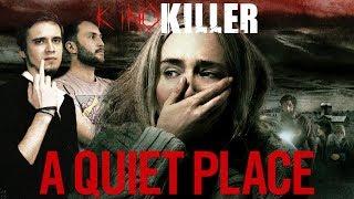"""Обзор фильма """"Тихое Место"""" (Худший фильм ужасов 2018-го года) - KinoKiller (feat. EarzOnFire)"""