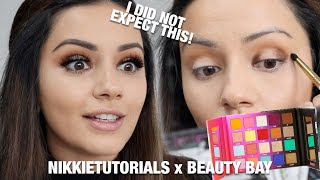 TESTING THE *NEW* NIKKIETUTORIALS x BEAUTY BAY PALETTE REVIEW + DEMO | KAUSHAL BEAUTY