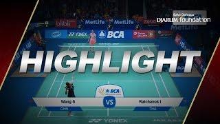 Ratchanok Intanon (THA) VS Wang Shixian (CHN) - BIOSSP2015
