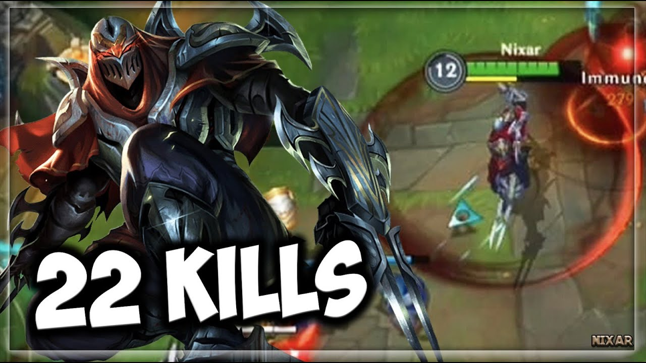 POWERFUL ASSASSIN RAGE KILLING!! | League of Legends Zed Wild Rift Gameplay | LoL Mobile Closed Beta